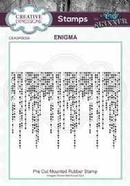 CE Rubber Stamp by Andy Skinner - Enigma - CEASRS008